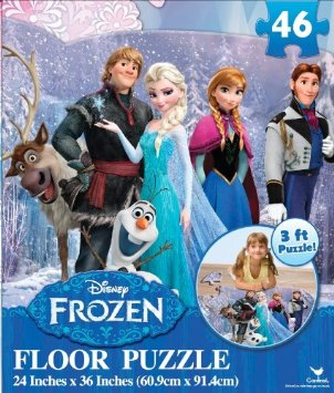 Disney Frozen Floor Puzzle (46-Piece) 24″ x 36″