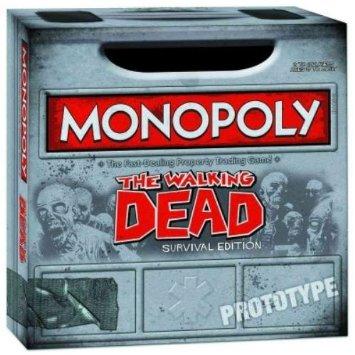 Monopoly the Walking Dead Survival Edition