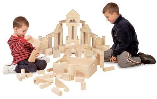 Melissa & Doug 60-Piece Standard Unit Blocks