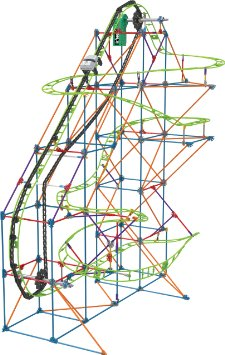 K'nex Typhoon Frenzy Roller Coaster Building Set